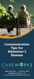 Communication Tips for Alzheimer's Disease