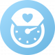 nurse clock icon